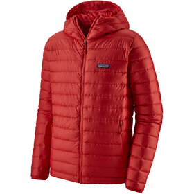 Patagonia Down Sweater Hoodie Herren fire with fire